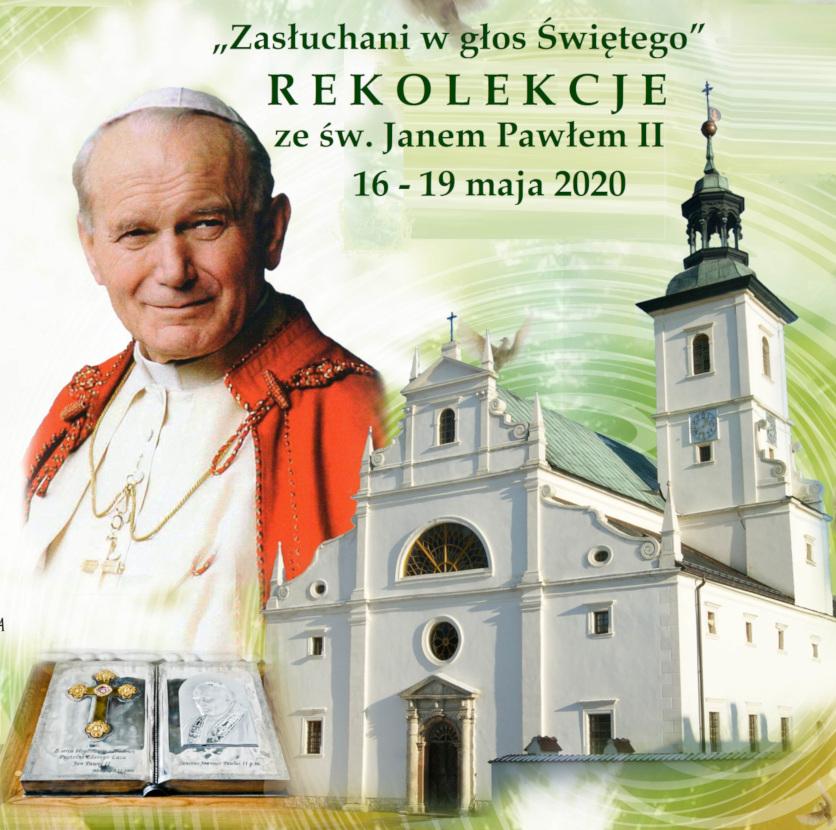 Baner Rekolekcje ze św. JP II