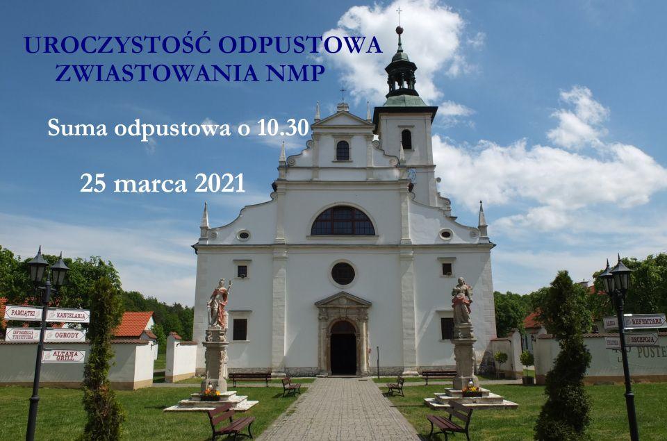 plakat Odpust Zwiastowanie NMP1