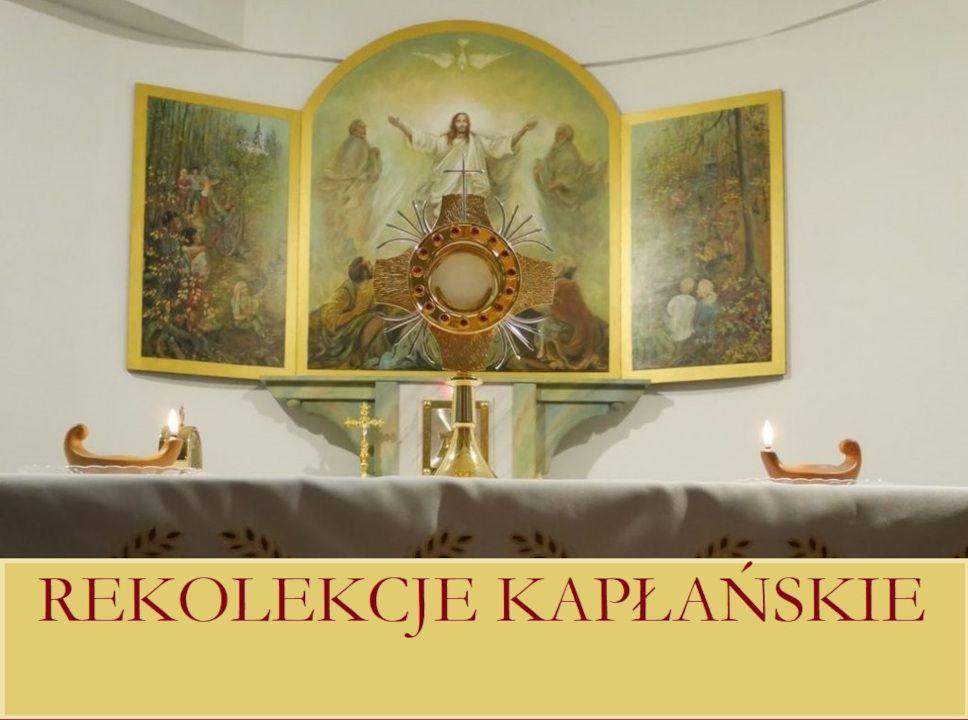 Baner Rekolekcje kapłańskie 2021