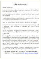 Plakat Zgłoś pielgrzymkę1
